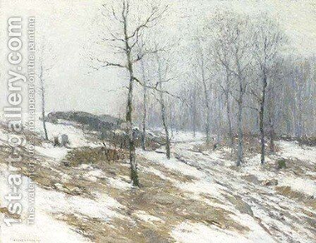 February Thaw by Bruce Crane - Reproduction Oil Painting