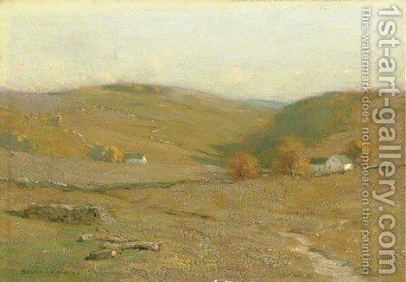 Mohawk Hills by Bruce Crane - Reproduction Oil Painting