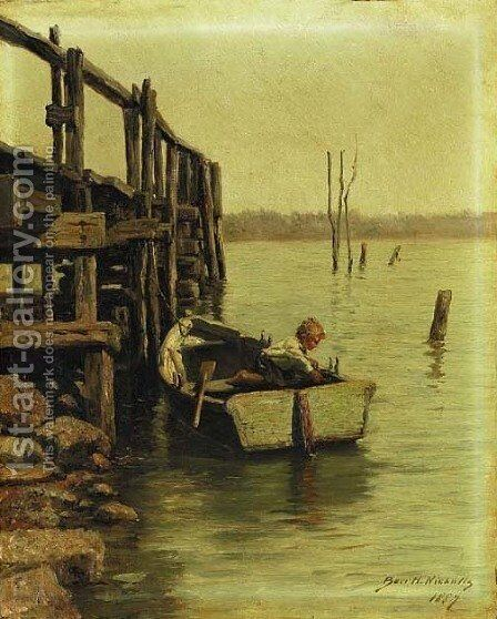 New York Dock Rat by Burr H. Nicholls - Reproduction Oil Painting