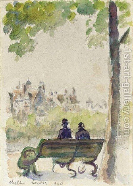 Chelsea, Londres by Camille Pissarro - Reproduction Oil Painting