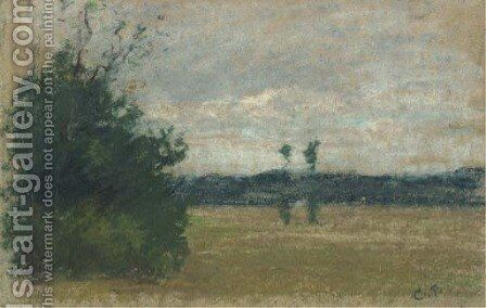 Paysage 2 by Camille Pissarro - Reproduction Oil Painting