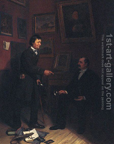 The Art Collection by Carl Christian Andersen - Reproduction Oil Painting