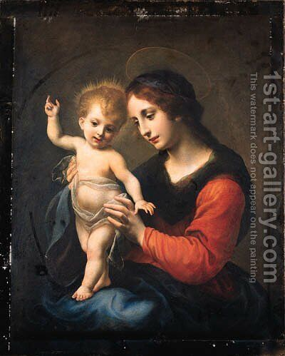 The Madonna and Child by Carlo Dolci - Reproduction Oil Painting
