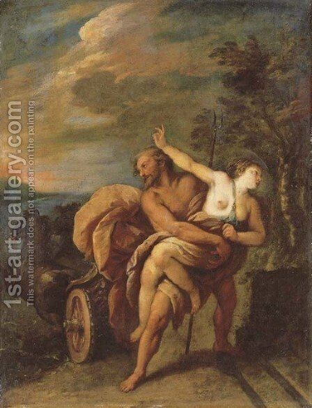 The Rape of Proserpine by Carlo Francesco Nuvolone - Reproduction Oil Painting