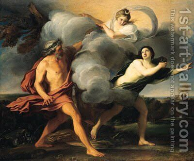 Alpheus and Arethusa by Carlo Maratta or Maratti - Reproduction Oil Painting