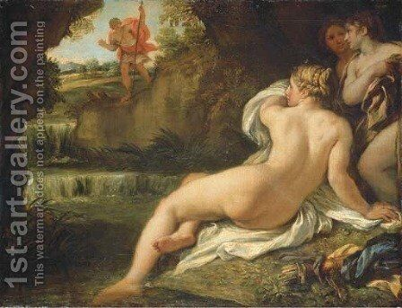 Diana and Actaeon by Carlo Maratti - Reproduction Oil Painting