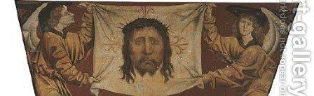 The Veil of Saint Veronica by Castilian School - Reproduction Oil Painting