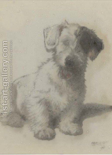 Mischief by Cecil Charles Aldin - Reproduction Oil Painting