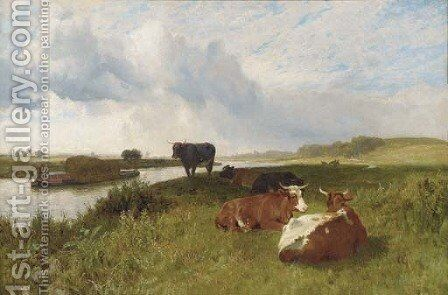 Summertime by Charles Collins - Reproduction Oil Painting