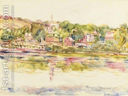 New Hope, Pennsylvania by Charles Demuth - Reproduction Oil Painting