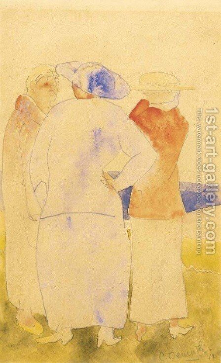 The Conversation by Charles Demuth - Reproduction Oil Painting