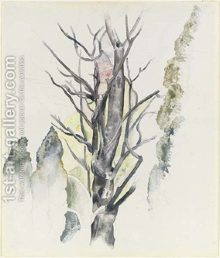 Trees by Charles Demuth - Reproduction Oil Painting