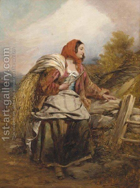 Lavinia by Charles Dukes - Reproduction Oil Painting