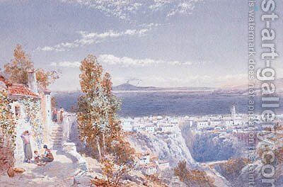 Sorrento by Charles Rowbotham - Reproduction Oil Painting