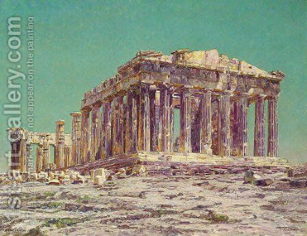 The Parthenon by Charles Gifford Dyer - Reproduction Oil Painting