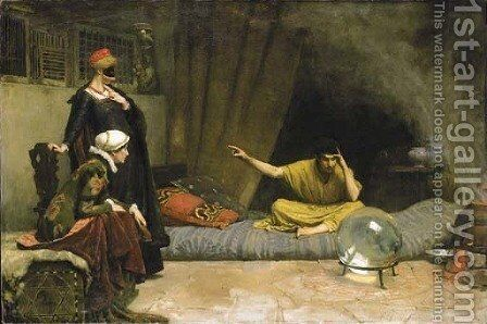 The Fortune Teller by Charles Gogin - Reproduction Oil Painting