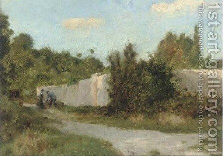 Villiers le Bel by Charles Gogin - Reproduction Oil Painting