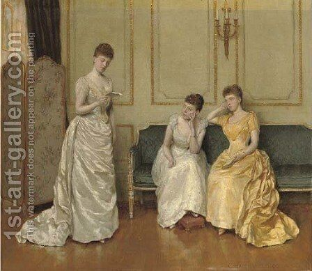 A New Poem by Charles Haigh-Wood - Reproduction Oil Painting