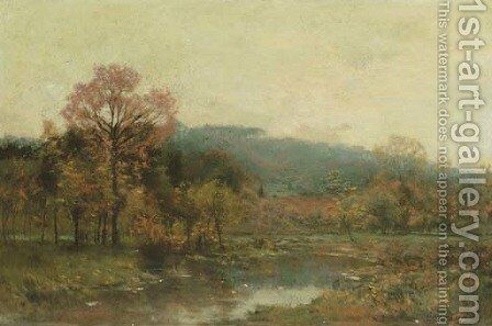 Autumn Brook by Charles Harry Eaton - Reproduction Oil Painting