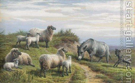 Spring by Charles Jones - Reproduction Oil Painting