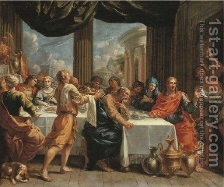 The Marriage at Cana by Charles Poerson - Reproduction Oil Painting