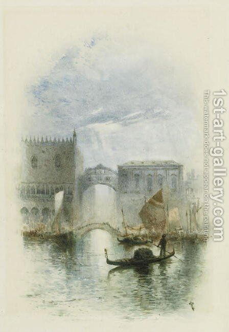 Dreams of Venice by Charles Robertson - Reproduction Oil Painting