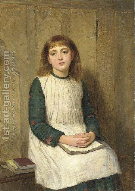 Contemplation by Charles Sillem Lidderdale - Reproduction Oil Painting
