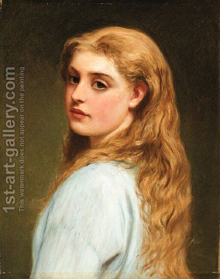 Sweet seventeen by Charles Sillem Lidderdale - Reproduction Oil Painting
