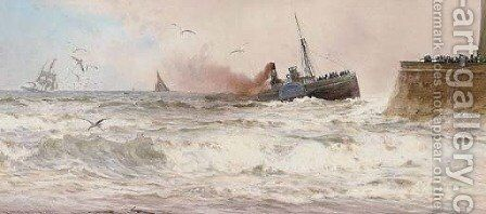 All saved by Charles Mottram - Reproduction Oil Painting