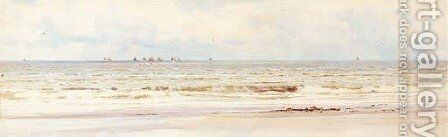 The Essex coast by Charles Mottram - Reproduction Oil Painting