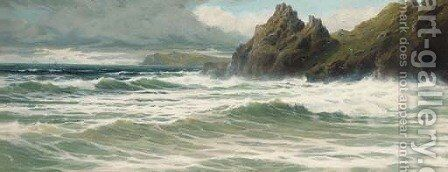 The Devon coast by Charles Hamilton Smith - Reproduction Oil Painting