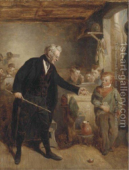 Confiscation by Charles Thomas Bale - Reproduction Oil Painting