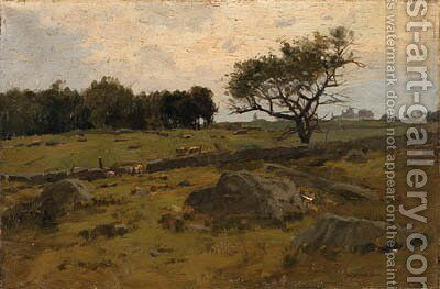 Landscape by Charles Harry Eaton - Reproduction Oil Painting