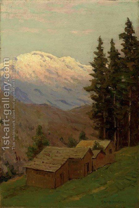 Glacier National Park by Charles Harry Eaton - Reproduction Oil Painting
