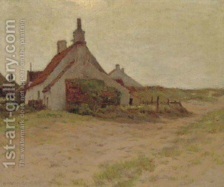 House on Sand by Charles Harry Eaton - Reproduction Oil Painting