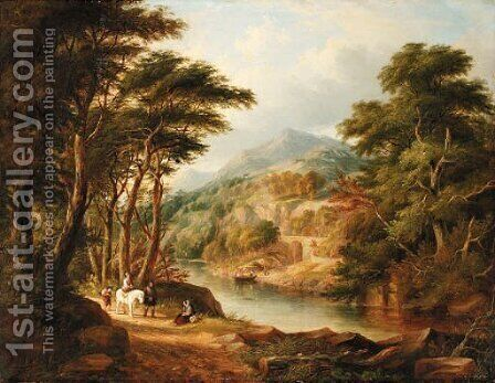 Landscape by Charlotte Nasmyth - Reproduction Oil Painting