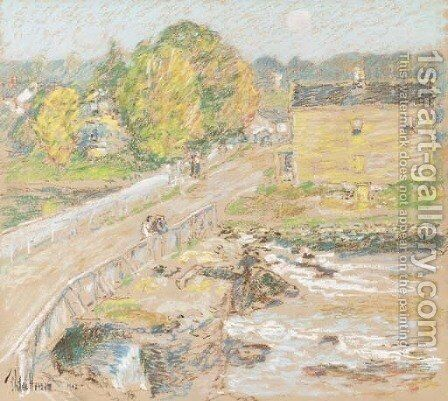 Cos Cob by Childe Hassam - Reproduction Oil Painting