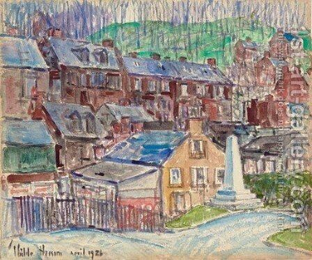 Harper's Ferry, 2nd by Childe Hassam - Reproduction Oil Painting