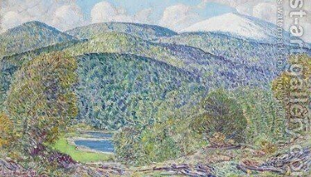 Spring in White Mountains by Childe Hassam - Reproduction Oil Painting