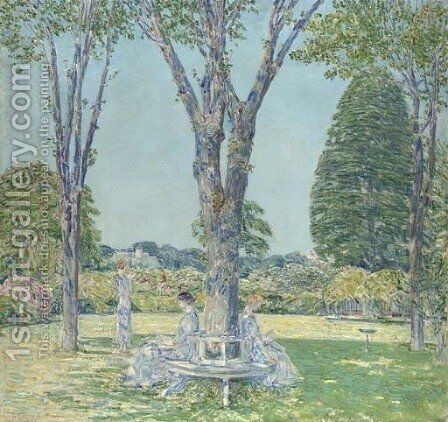 The Audition, East Hampton by Childe Hassam - Reproduction Oil Painting