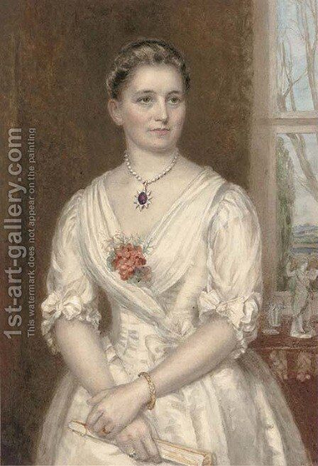 The Grand Duchess, Olga Nicholsiana by Christina Robertson - Reproduction Oil Painting