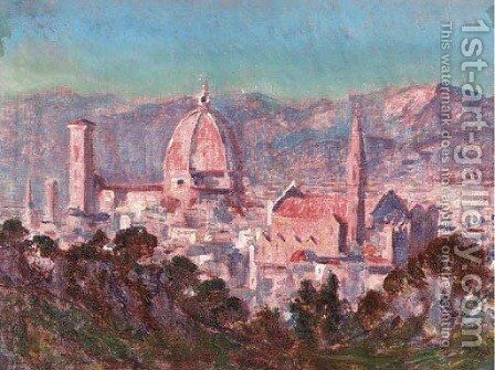 Evening, Florence by Christopher Williams - Reproduction Oil Painting
