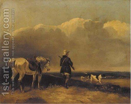Partridge Shooting by (after) Cooper, Abraham - Reproduction Oil Painting