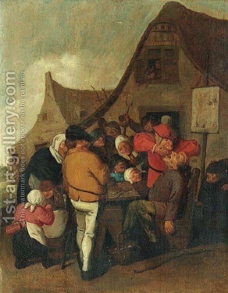 The Dentist by (after) Adriaen Brouwer - Reproduction Oil Painting