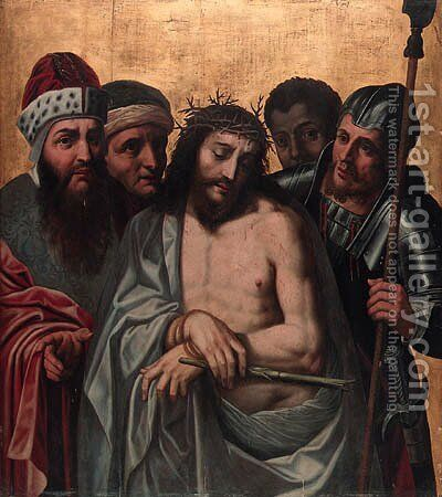 Ecce Homo by (after) Ambrosius Benson - Reproduction Oil Painting