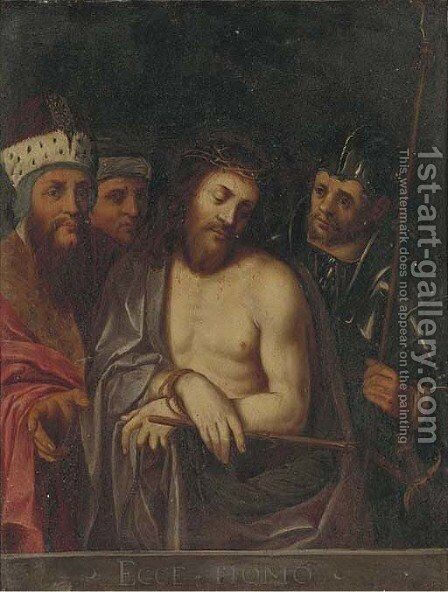 Ecce Homo by (after) Ambrosius Francken II - Reproduction Oil Painting