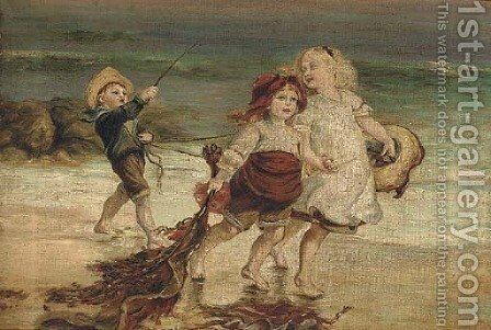 Play time by (after) Arthur John Elsley - Reproduction Oil Painting