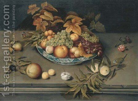Still life by (after) Balthasar Van Der Ast - Reproduction Oil Painting