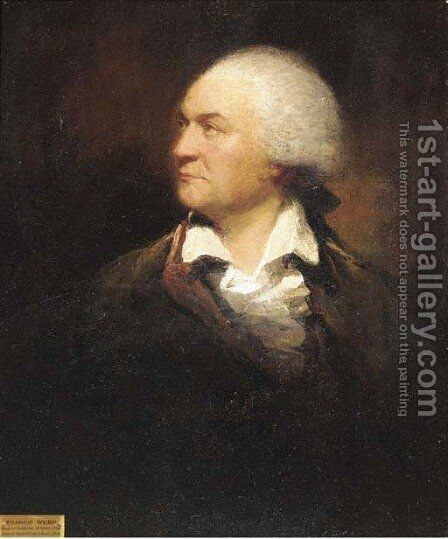 Portrait of Francis Webb (1735-1815) by (after) Benjamin West - Reproduction Oil Painting