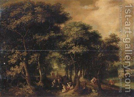 Noli me tangere by (after) David Vinckboons - Reproduction Oil Painting